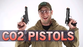 Co2 Pistols for Players looking for unique pistols - Great for cold weather | Airsoft GI