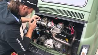 Fiat 500 Gas Tiger Garage.. Pure sound