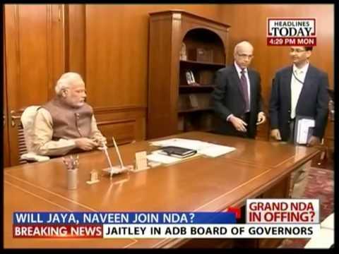 Odisha CM Naveen Patnaik meets Modi