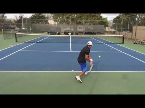 Tennis Ball Machine Training and Drills - Spinfire Pro 2