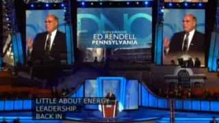 Governor Ed Rendell (D-PA)