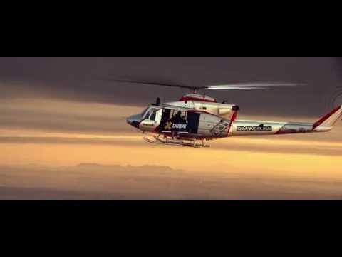 Jetman Aerobatic Formation Flight in Dubai – 4K