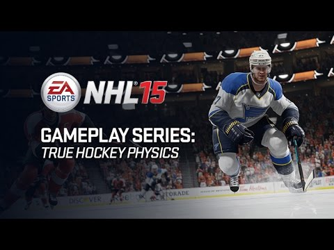 NHL 15 Gameplay Series: True Hockey Physics