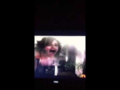Girl from big time rush gets pied