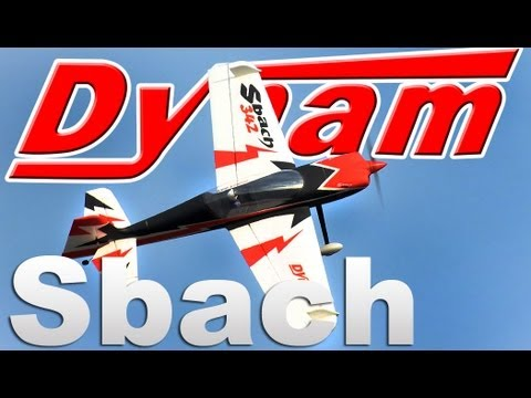 New Dynam Sbach 342 4Ch Aerobatic RC plane