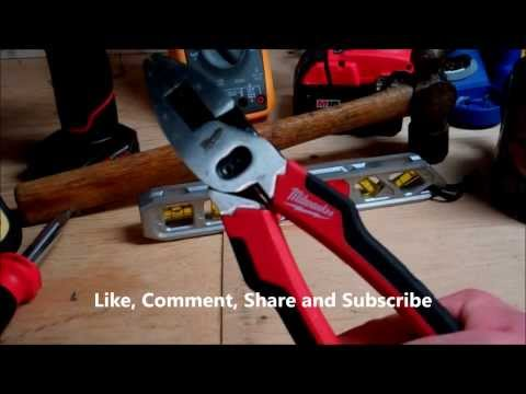 Linesman Pliers With Crimper 1 Linesman Pliers Review