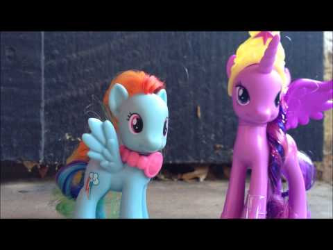 My Little Pony Princess Twilight Sparkle and Rainbow Dash Two Pack Toy Review