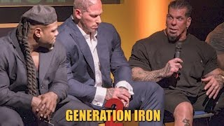 GENERATION IRON 2 - RED CARPET - PREMIER - PRESS CONFERENCE - Q & A