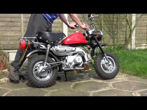 50cc Monkey Bike Madness!
