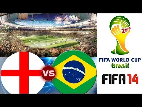 [TTB] FIFA 2014 World Cup Brazil - England Vs Brazil - First Game Impressions