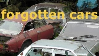 Forgotten cars - Vergessene Autos - car cemetery - Autofriedhof- Broken dreams Teil 2 / Part 2