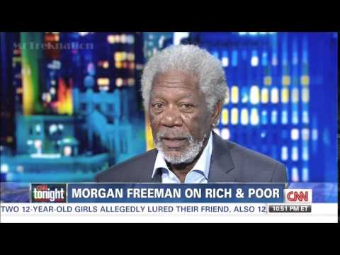 Morgan Freeman - The Roll Race & Gentics Plays In Wealth - CNN
