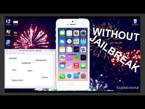 How to download mp3 songs and videos on iphone without using pc (no jailbreak required)