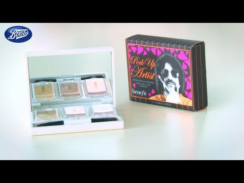 How to use Benefit Perk Up Artist make up palette