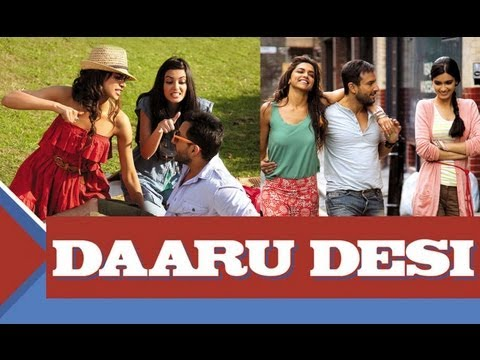 Daaru Desi -  Full Song With Lyrics - Cocktail