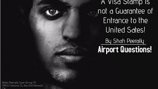 download lagu Airport Immigration Interview Questions  Cbp Interview At Airport. gratis