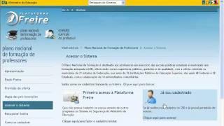 Vídeo-tutorial: Como acompanhar pré-inscrição da Plataforma Freire