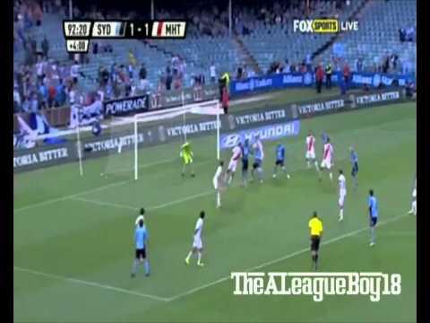 STUPENDO ASSIST VINCENTE DI DEL PIERO |Sydney FC 2-1 Melbourne|