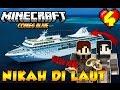 ROMANTISNYA NIKAH DI ATAS LAUT ! - Minecraft Comes Alive Indonesia #4