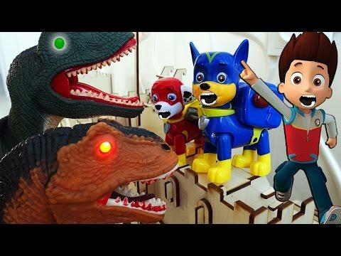 Щенячий Патруль новая серия Динозавры Ромео Развивающие мультики Герои в масках Игрушки Paw Patrol