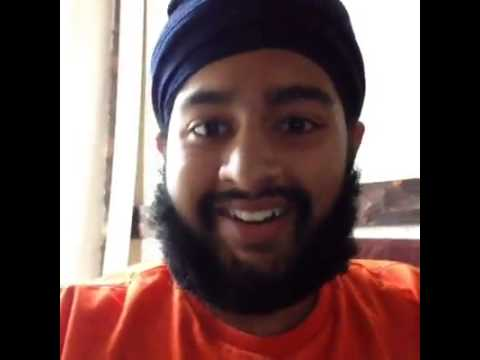 Funny Looking Guy Funny Indian Guy Singing
