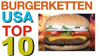 🍔 Burger Restaurants : TOP 10 USA ! 🇺🇸