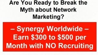 Earn $300 to $500 per Month with NO Recruiting
