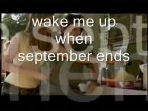 Wake Me Up When September Ends-Green Day:With Lyrics