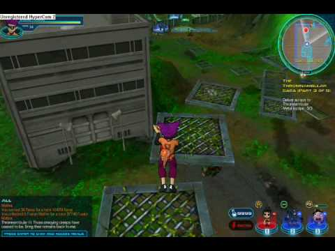 Fusionfall Wishing skull #3 mission !!!SPOILER ALERT!!! Video