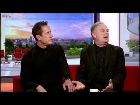 Andy  & Paul of OMD on BBC Breakfast 16th May 2012