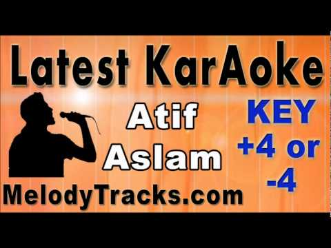 Teri Yaden - Atif aslam KarAoke - www.MelodyTracks.com