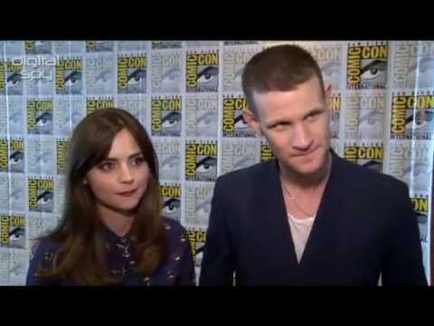 Doctor Who's Matt Smith & Jenna Coleman On The End Of The 11th Doctor - Digital Spy