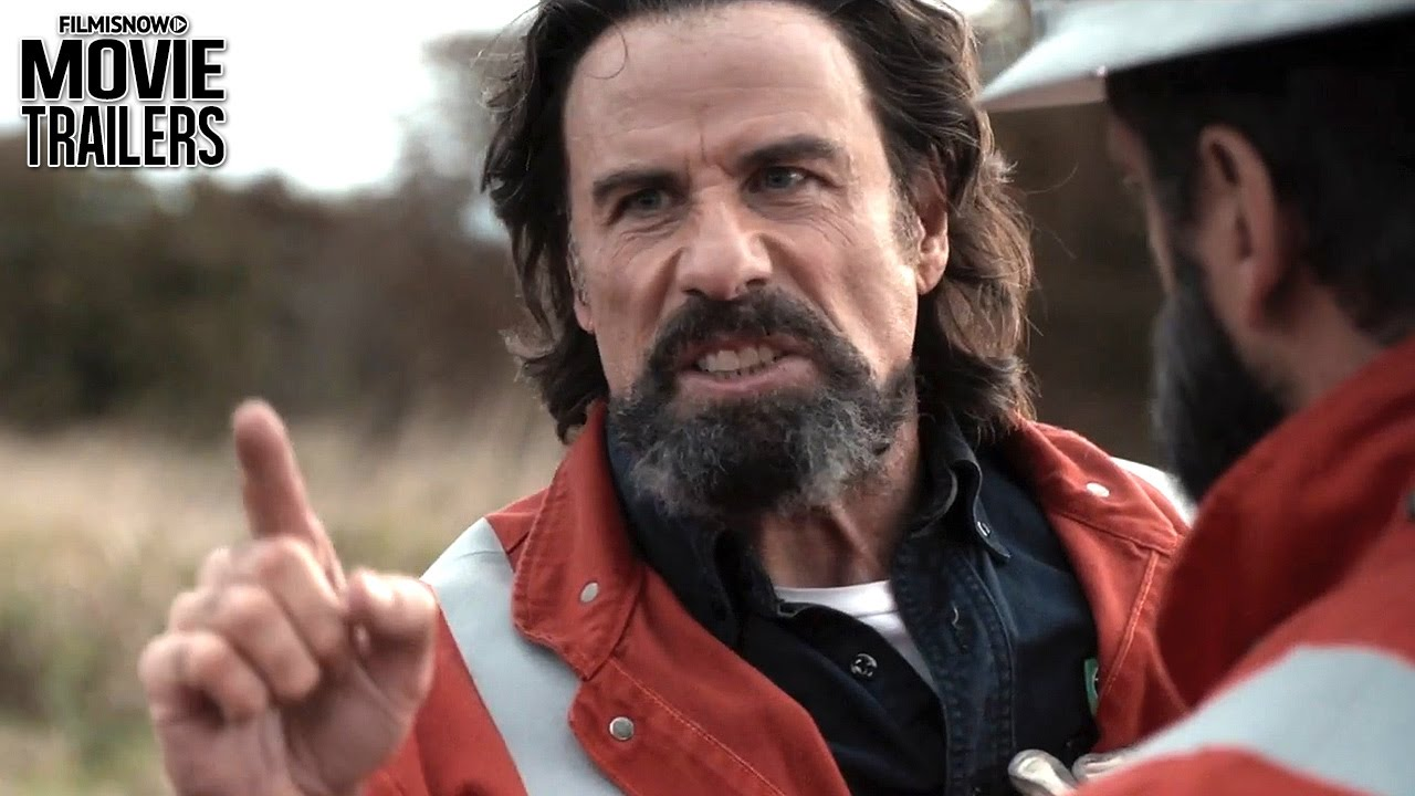Electric trailer for John Travolta's LIFE ON THE LINE