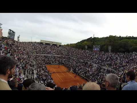 Novak Djokovic vs Rafael Nadal match point live ROME 2014 Internazionali BNL D'ITALIA