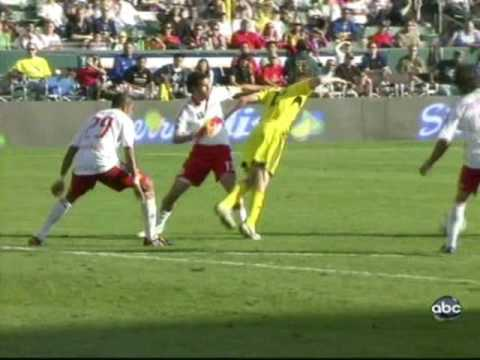Columbus Crew vs New York Red Bulls MLS Cup 2008 Frankie Hejduk goal