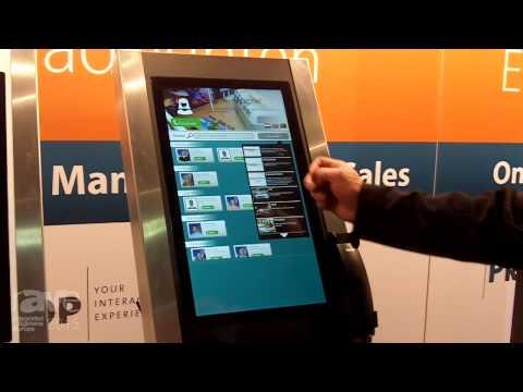 ISE 2015: PresTop Exhibits its Digital Reception Post