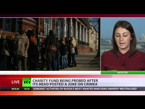 Crimea joke puts NGO head under suspicion of extremism