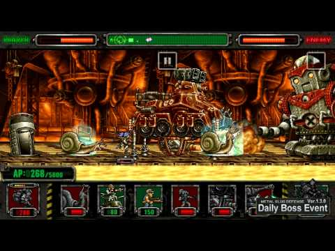 [Metal Slug Defense] Daily Event - Fat Fio -