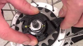 How to fit gear cassette to a Shimano Nexus 7 Nexus 8 Hub. Dutch Bike