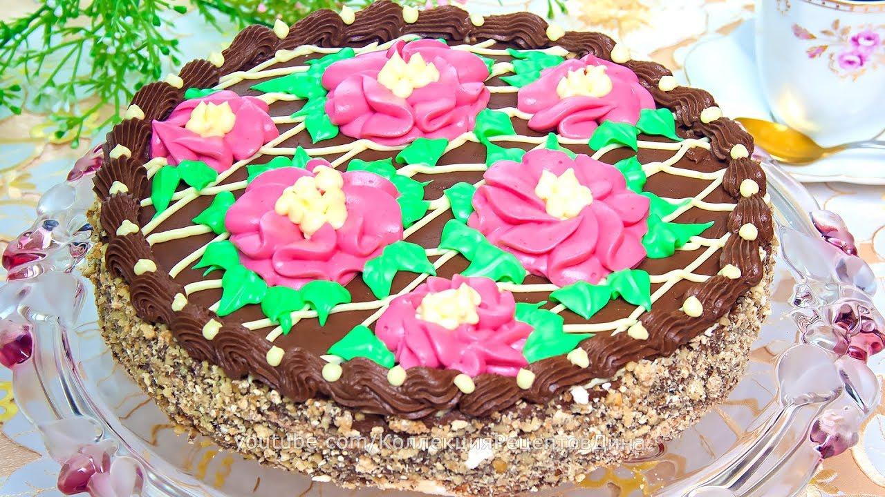 Рецепт торта киевский в домашних условиях с фото