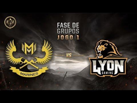 Marines x Lyon (Fase de Entrada - Dia 2)