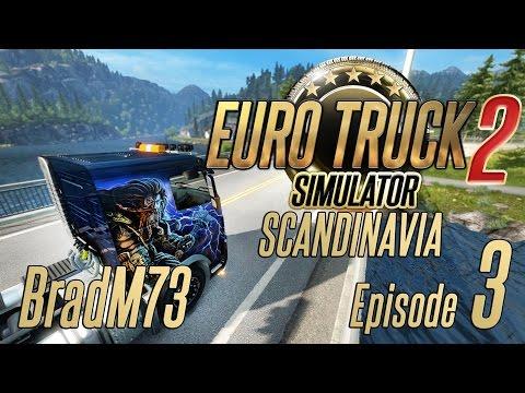 Euro Truck Simulator 2 - Scandinavia DLC - Episode 3 - w/ 1.2 Beta!!
