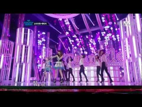 120503 Girls' Generation SNSD TaeTiSeo TTS - Baby Steps & Twinkle @ M!CountDown [FULL HD]