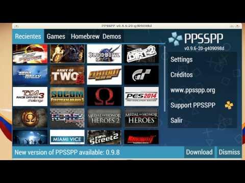 Como arreglar los graficos del emulador PPSSPP en canaima