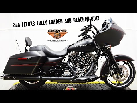 Sold! 2015 FLTRXS Road Glide Special Stock Pipes vs Screamin' Eagle Street Canons Harley-Davidson