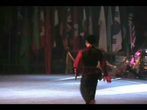 bali 2008-2nd World Junior Wushu Championship opening - china team demo 2