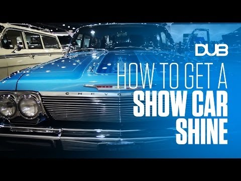 Getting A Show Car Shine At The DUB Show with DUB Car Care Developed by Meguiar's