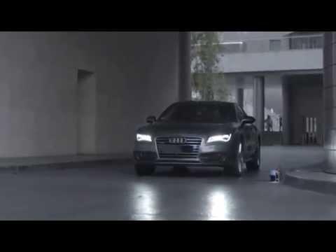 Nova tecnologia de estacionamento da Audi Supreende