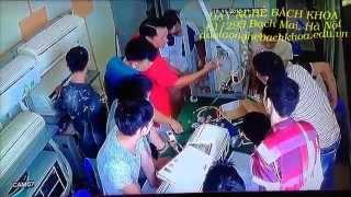 Lớp học nghề sửa chữa điện lạnh tại Trung tâm Dạy nghề Bách Khoa 61/295 Bạch Mai, Hà Nội