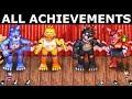 FNAF 6 - How To Get All The Band Achievements (Freddy Fazbear